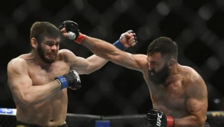 Белорусский боец Андрей Орловский победил на турнире UFC Fight Night