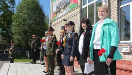В гомельском кадетском училище прошли торжества в честь 75-летия Победы