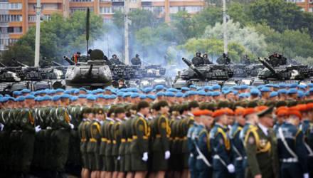 Начало парада ко Дню Победы запланировано на 11:00