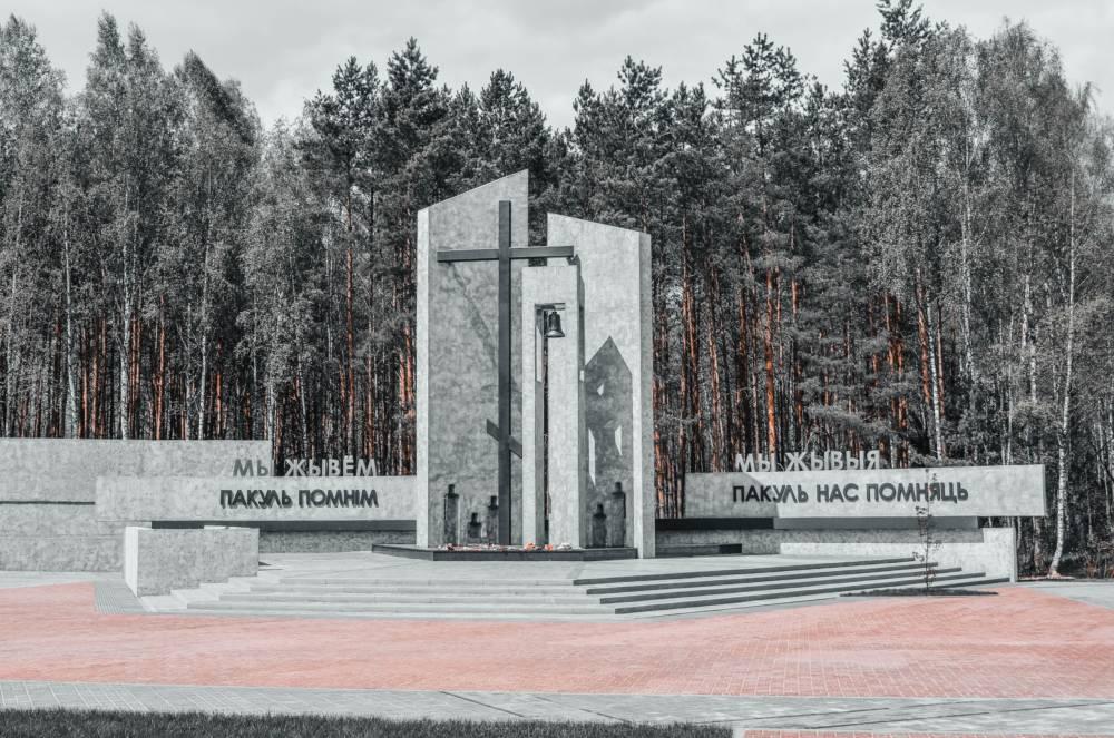 Работы на мемориальном комплексе «Ола» в Светлогорском районе практически завершены