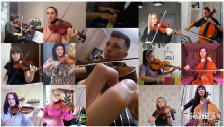 Музыканты гомельского оркестра исполнили «Богемскую рапсодию» не выходя из дома