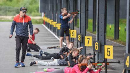 Юные биатлонисты из Жлобина преодолевают более 400 км в неделю ради тренировок