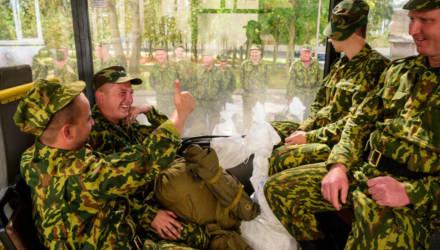 Офицеров запаса призывают на службу в армию в Беларуси