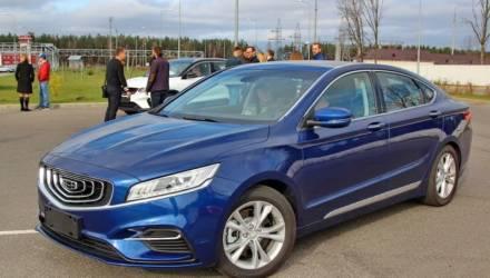 В Беларуси появился в продаже новый седан Geely GE за $28 300