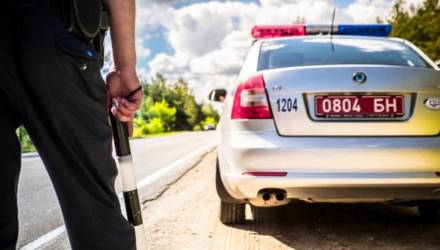 Гомельская ГАИ предупредила водителей: массировано будут отработаны несколько трасс