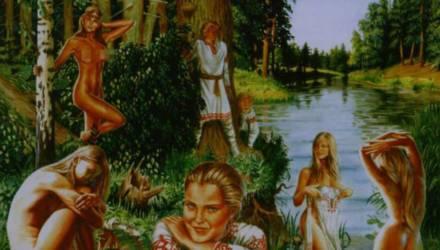 Сакральная обнажёнка. Чем занимались древние славяне для повышения урожая?