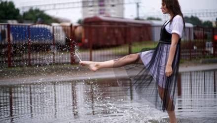 Дожди и грозы ожидаются в Гомеле в выходные
