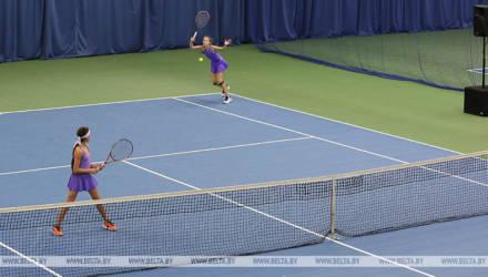Теннисный корт появился в Октябрьском