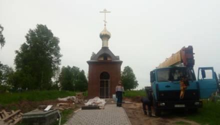 Уроженец Добрушского района, проживающий в России, пожертвовал на строительство часовни под Гомелем