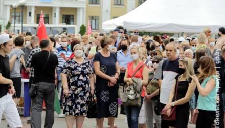 В Гомеле и Мозыре прошли пикеты за выдвижение Александра Лукашенко кандидатом в президенты