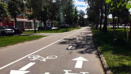 В Гомеле появилась новая велосипедная дорожка