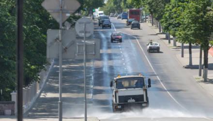 Как гомельские улицы спасают от жары