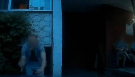 В Гомеле мужчина поцарапал милицейский Ford