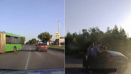 В Речицком районе сотрудники ГАИ преследовали автомобиль, за рулём которого оказался 15-летний школьник