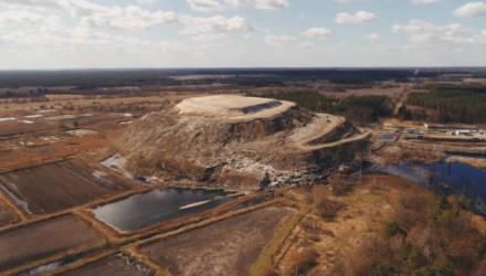 Полигон твёрдых бытовых отходов под Гомелем больше не растёт. По крайней мере, в высоту