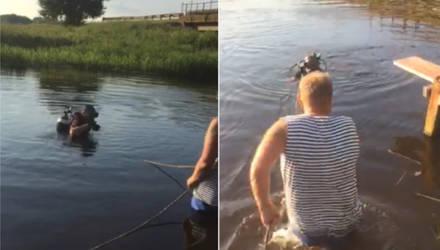 Житель Калинковичей утонул в реке Ипа