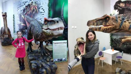 12 июня в Гомеле откроется интерактивная выставка «Ожившие динозавры»