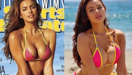 Девушки повторили культовые снимки моделей в купальниках, и стало жарче вдвойне: 10 примеров