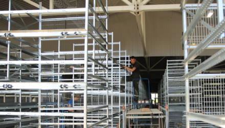 Как на Гомельщине идёт реконструкция птичников в РУП «Белоруснефть-Особино»? Репортаж со стройплощадки