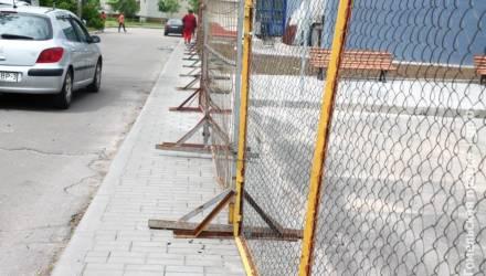 Тротуар гомельчанам нужно заслужить?