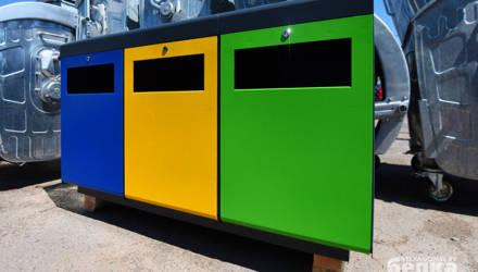 В Гомеле наладили производство боксов для раздельного сбора мусора. Киев уже оценил