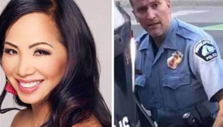 Жена-модель бросила породившего бунты в США полицейского Дерека Шовена