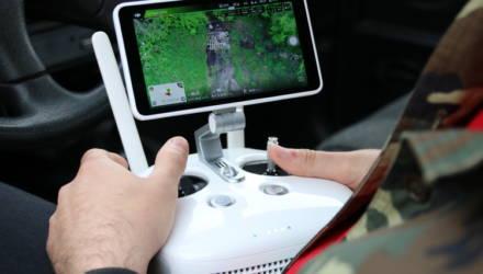Мониторинг с высоты птичьего полёта: как экологи проводят обследование территорий Гомельского района с помощью квадрокоптера