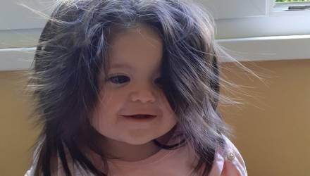 Настоящая Рапунцель: девочка прославилась благодаря аномально густым волосам. Только взгляните
