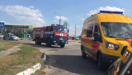 В Гомеле 9 водителей не уступили дорогу пожарной машине МЧС и провалили экзамен на человечность