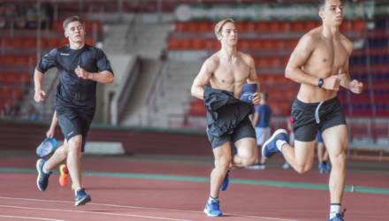 Первая тренировка ХК «Гомель» прошла во Дворце лёгкой атлетики