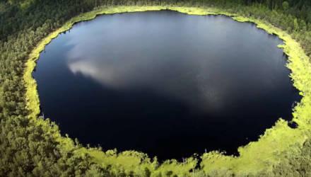 Светлогорец в одиночку провёл три ночи на Мёртвом озере