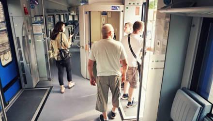 Журналисты побывали в новенькой электричке Светлогорск-Минск