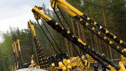 """""""Газпром"""" начал демонтаж транзитных труб у границы с Украиной"""