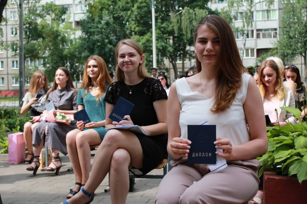 В ГГУ имени Ф. Скорины прошла церемония вручения дипломов (фото)