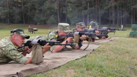 Гомельская пограничная группа предупредила о проведении стрельб в июне