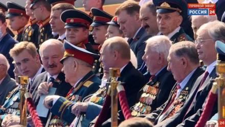 «Коля Лукашенко мой краш». Соцсети восхищаются сыном президента Беларуси на параде в Москве