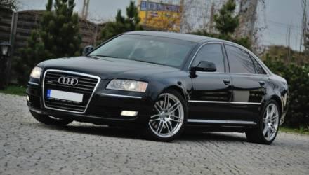 В Брагине мужчина продал на запчасти лизинговую Audi А8. Возбуждено уголовное дело за растрату