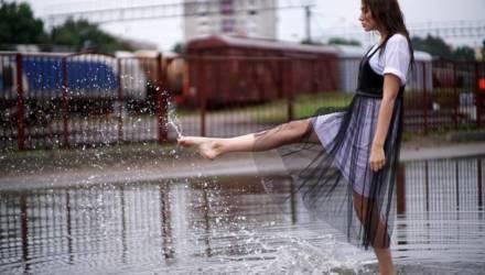 Ни дня без дождя и местами может пронзить небеса. Погода в Гомеле на неделе
