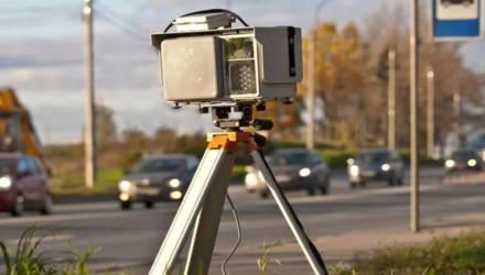 Датчик контроля скорости будет работать на М5 в Гомельском районе