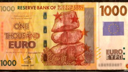 Белорус принёс в банк поменять купюру в 1000 евро. Рассказываем, что было дальше