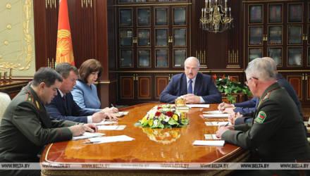 Лукашенко собрал срочное совещание Совбеза по ситуации с задержанием боевиков-россиян из ЧВК Вагнера