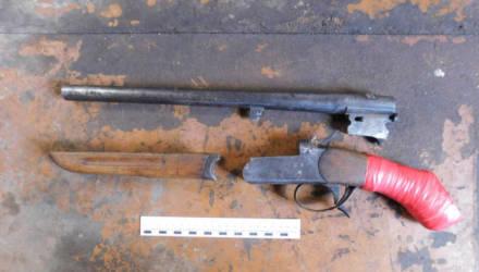 У жителя Гомельского района нашли и изъяли обрез охотничьего ружья