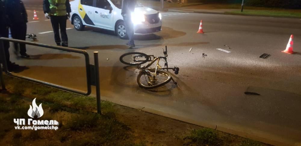 Снова инцидент с Яндекс.Такси: водитель сбил велосипедиста и самокатчика на ПП