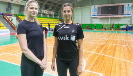 """Женская команда гандбольного клуба """"Гомель"""" пополнилась двумя новыми игроками"""