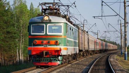 Гомельский поезд остановился прямо над спящим на железнодорожных путях человеком