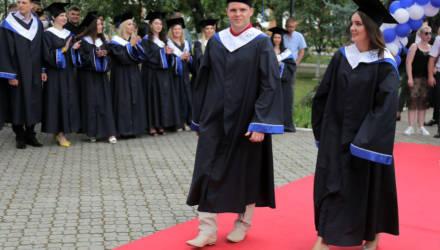 Выпускникам Гомельского филиала университета МИТСО вручили дипломы