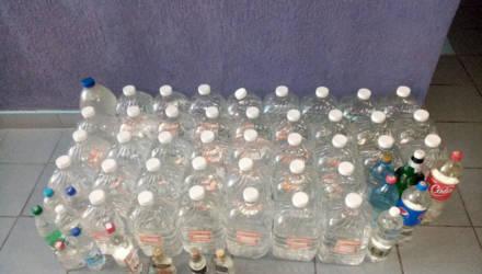 В Гомеле изъята крупная партия спиртосодержащей жидкости