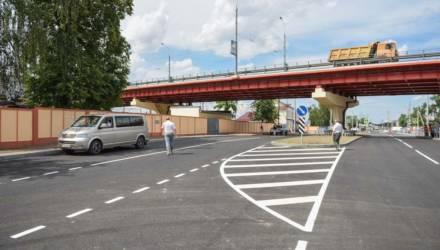 В Гомеле после реконструкции открыли улицу Шевченко