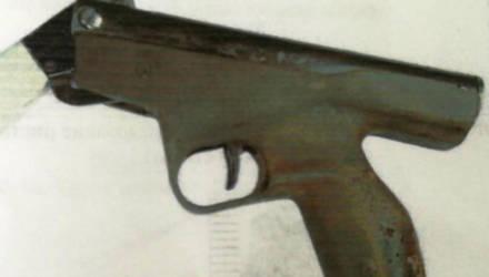 В Житковичах у мужчины нашли марихуану и пистолет
