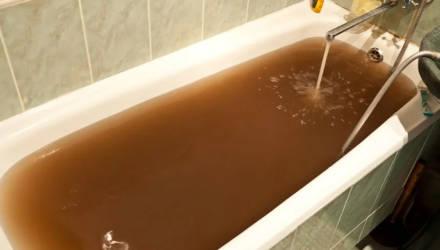 Рыжий душ. Узнали, кто и как будет решать проблему качества воды в районе Никольской церкви